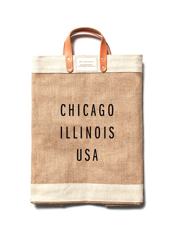 Apolis Chicago Market Bag