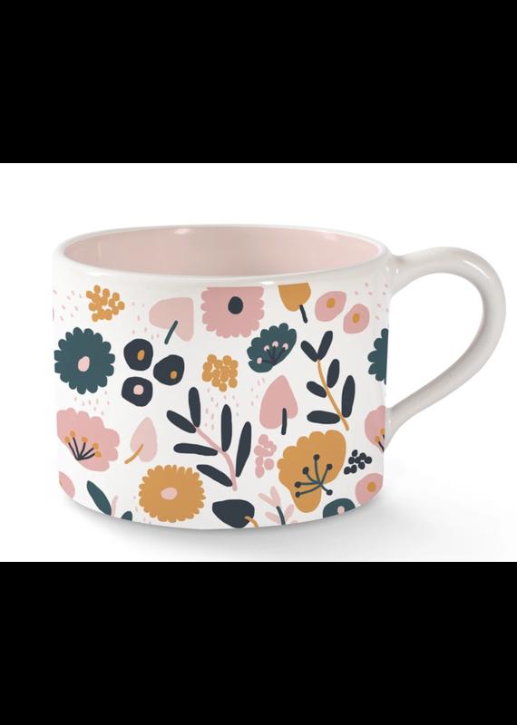 Fringe Floral Morning Mug