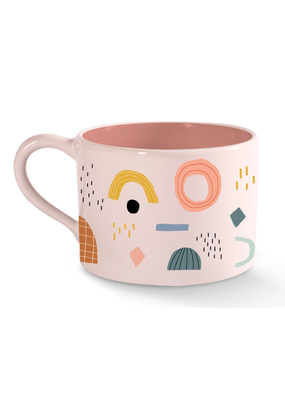Fringe Shapes Morning Mug