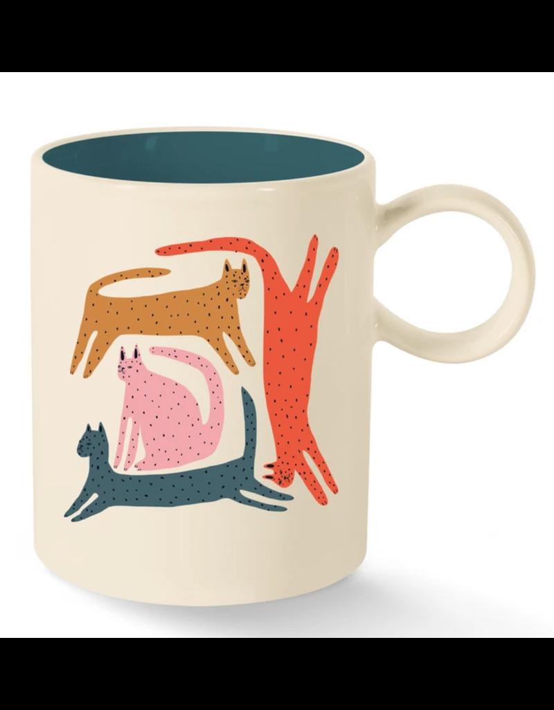Fringe Cats Mug