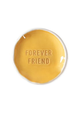 Fringe Forever Friend Stamped Word Trinket Dish Tray