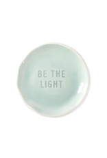 Fringe Be The Light Stamped Word Trinket Dish Tray