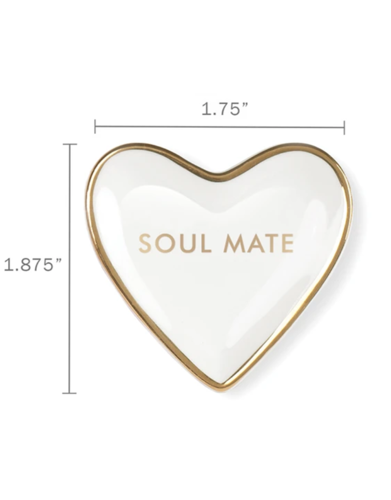 Fringe Soul Mate Heart Tiny Tray