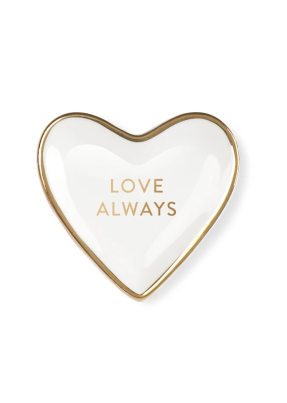 Fringe Love Always Heart Tiny Tray