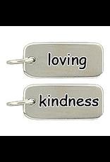 Sterling Silver Loving Kindness Charm