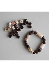 Lenny & Eva DIY Wood & Shell Bracelet Kit