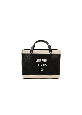 Apolis Chicago Petite Black Market Bag