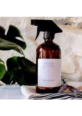 Ivory & Iron Everyday Disinfectant Spray Lavender & Vetiver 16oz