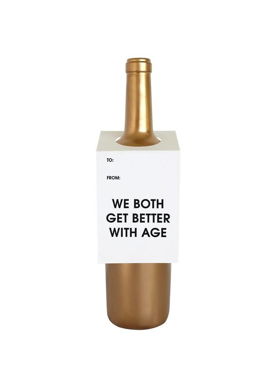 Chez Gagné Both Get Better w Age Wine & Spirit Tag