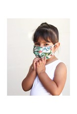 Lost + Wander Aqua Adjustable Kids Face Mask