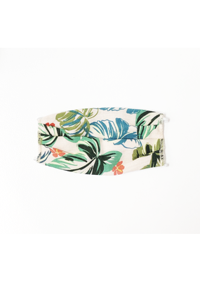 Lost + Wander Tropical Floral Face Mask