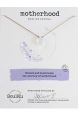 SoulKu Opaline Crystal Soul Shine Motherhood Necklace