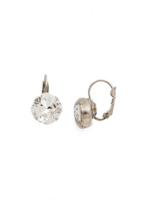 Sorrelli Crystal Cushion Cut French Wire Earring