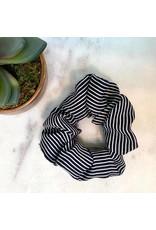 Stripe Scrunchie Navy