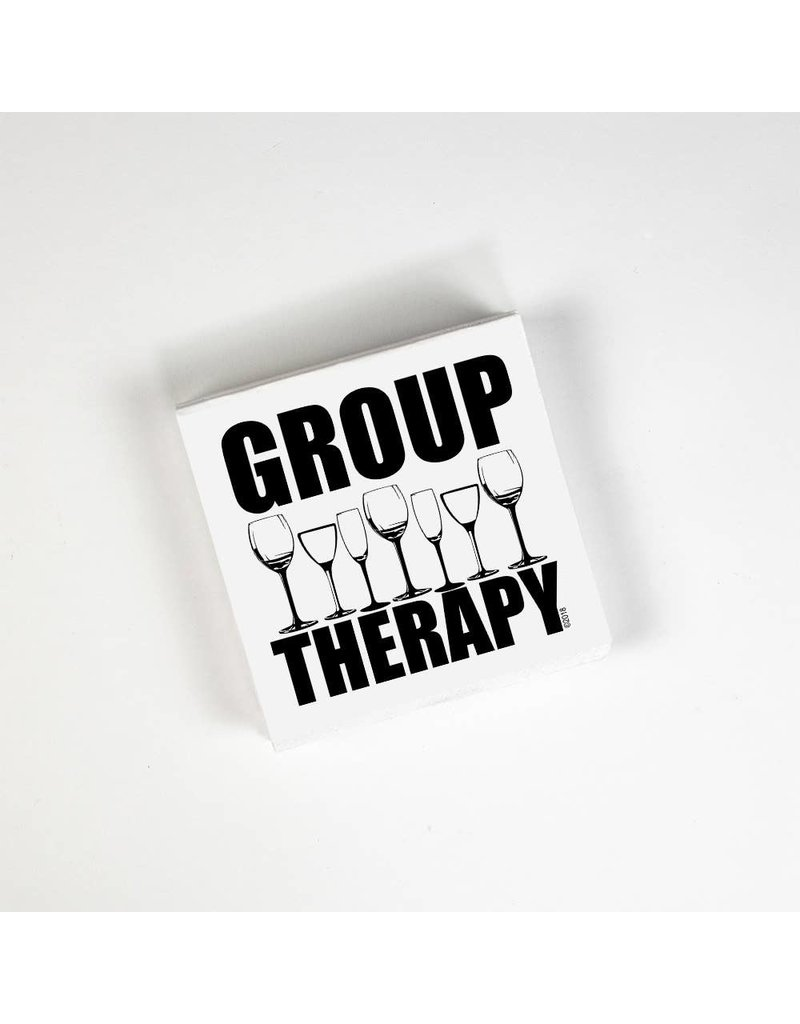 Twisted Wares Group Therapy Cocktail Napkins