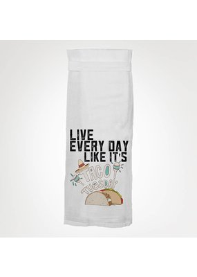 Twisted Wares Taco Tuesday Kitchen Towel
