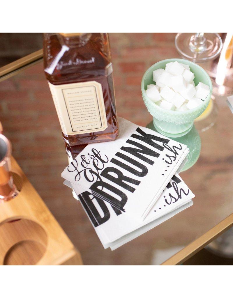 Twisted Wares Let's Get Drunk...Ish Cocktail Napkins