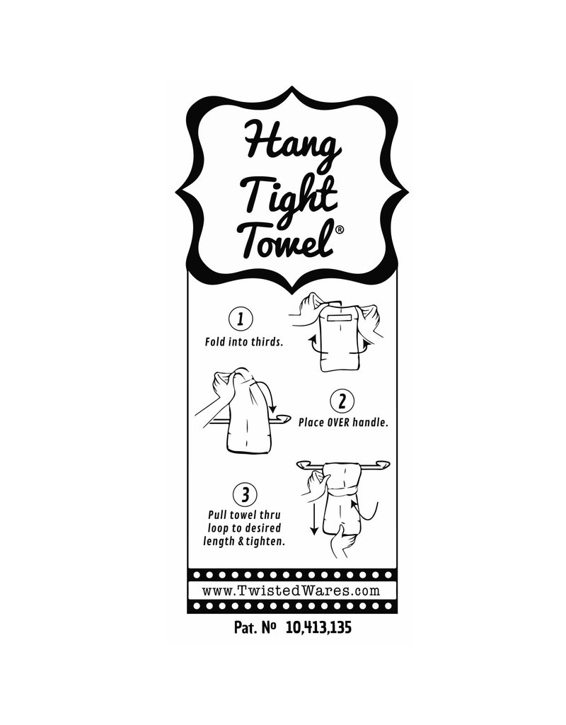 Twisted Wares I Let The Dogs Out Kitchen Towel