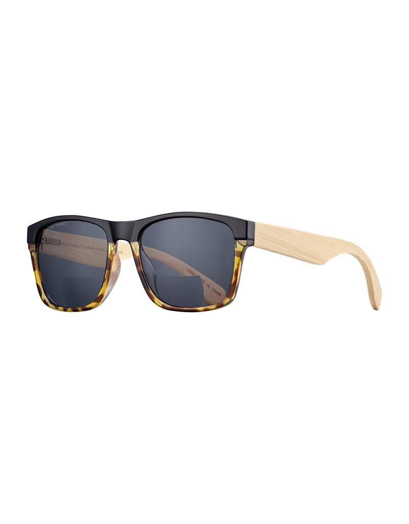 Blue Planet Onyx & Walnut Tortoise Bifocal Sunglass