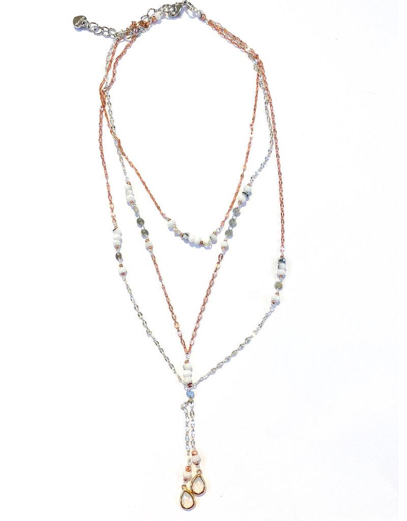 Nakamol Layered Karmina Necklace
