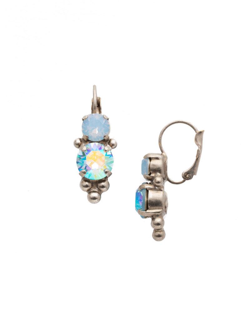 Sorrelli Sorrelli Pastel Prep Ornate Crystal French Wire Earring