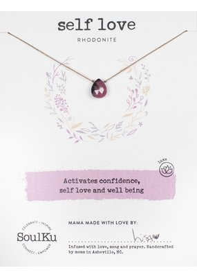 SoulKu Rhodonite Self-Love Necklace