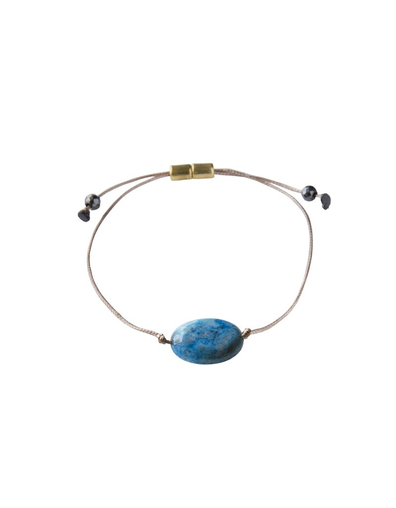 SoulKu Blue Crazy Lace All One Joy Bracelet