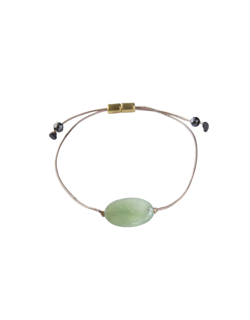 SoulKu Green Aventurine All One Healing Bracelet