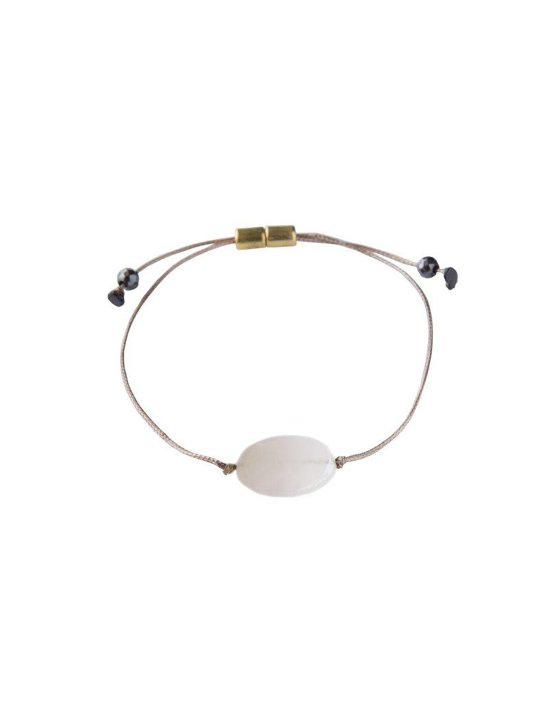 SoulKu Rose Quartz All One Love Bracelet