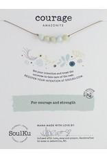 SoulKu Amazonite Intention Courage Necklace