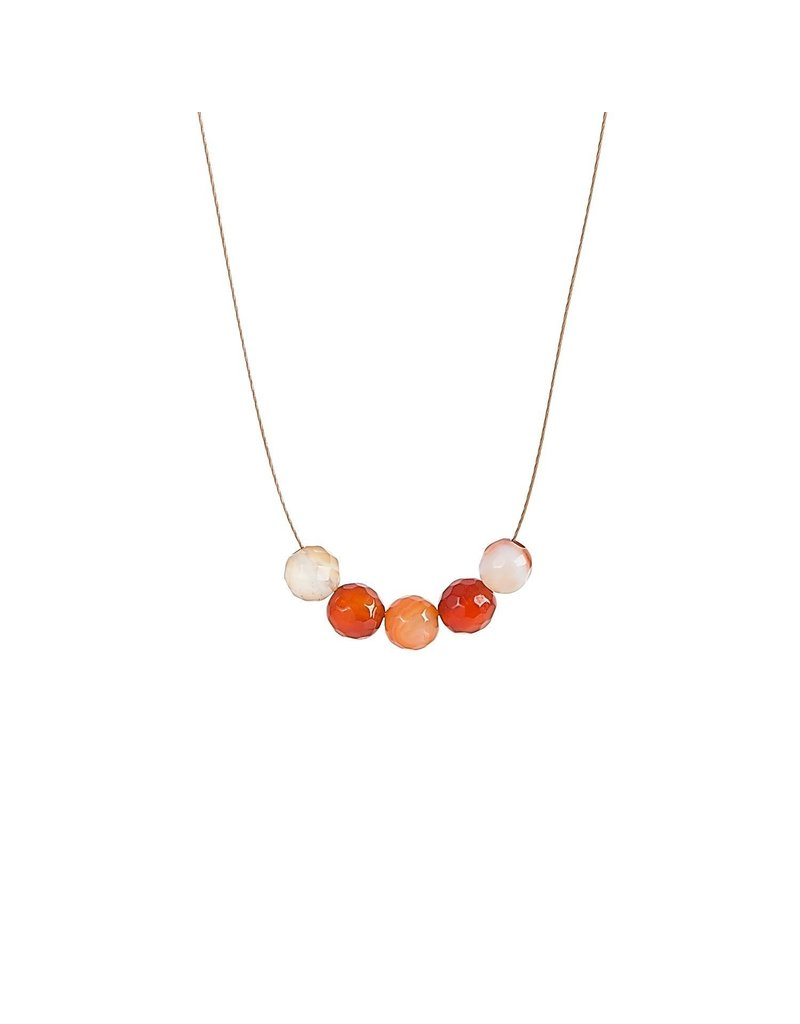 SoulKu Carnelian Intention Abundance Necklace