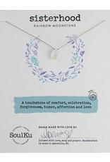 SoulKu Rainbow Moonstone Luxe Sisterhood Necklace