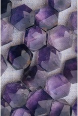 SoulKu Amethyst Sacred Geometry Healing Necklace
