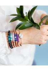SoulKu Fuchsia Crazy Lace All One Happiness Bracelet