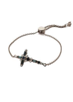 Sorrelli Glory Blue Venezia Slider Bracelet
