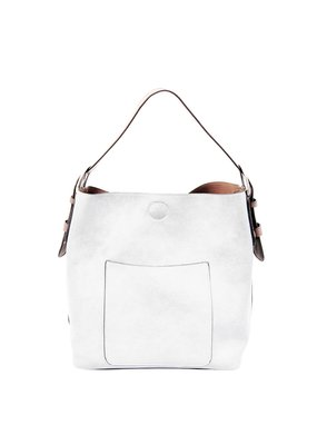Joy Susan White Hobo Coffee Handle Handbag