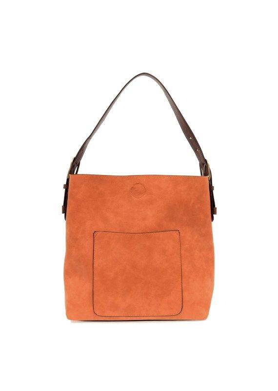 Joy Susan Tangerine Hobo Coffee Handle Handbag