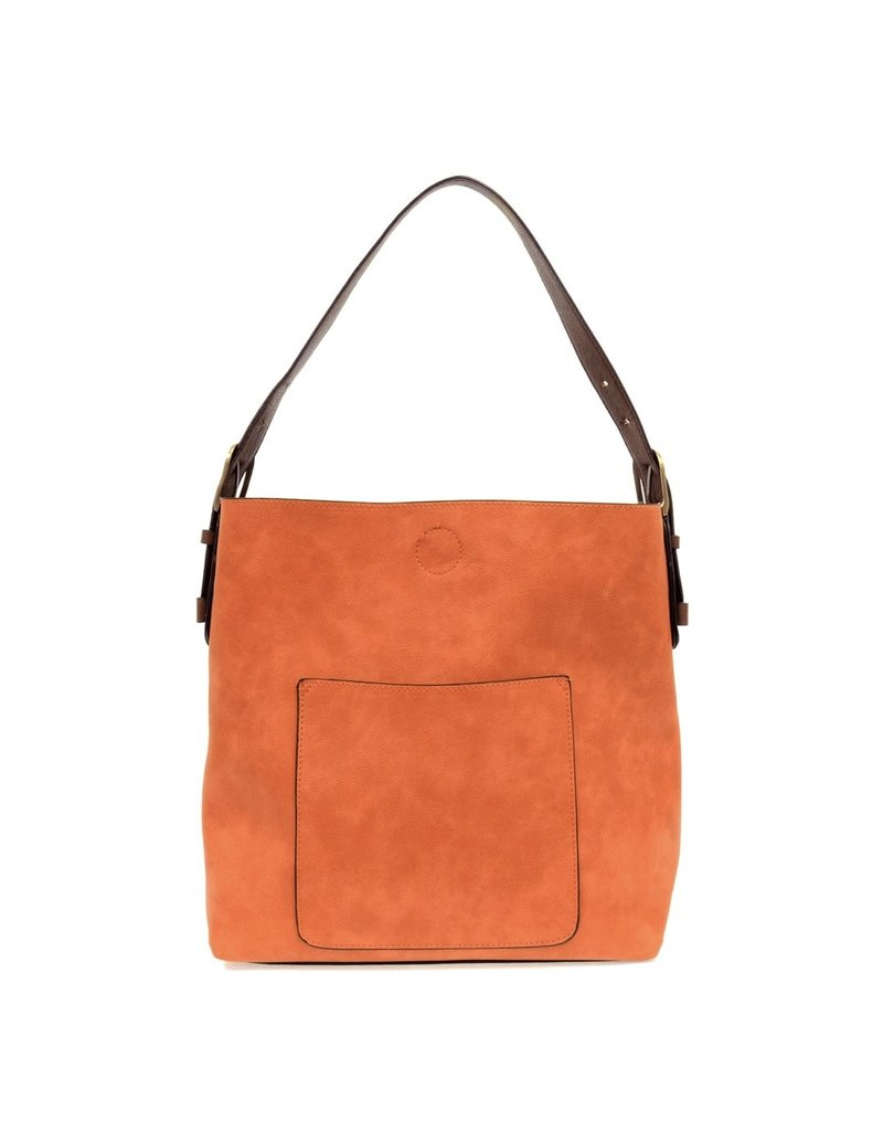 Joy Susan Tangerine Hobo Coffee Handle Handbag