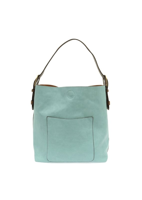 Joy Susan Capris Turquoise Hobo Coffee Handle Handbag