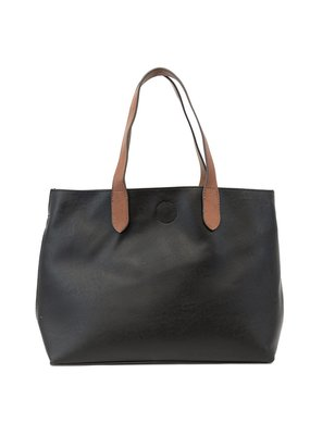Joy Susan Black & Cedar Mariah Medium Convertible Tote