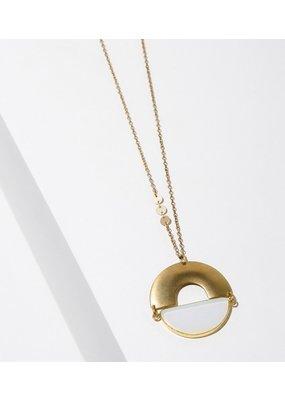 Larissa Loden Opalite Ramses Necklace