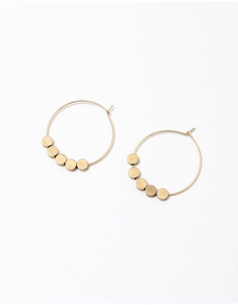 Larissa Loden Circle Greta Earrings