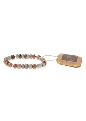 Scout Aqua Terra Stone Bracelet