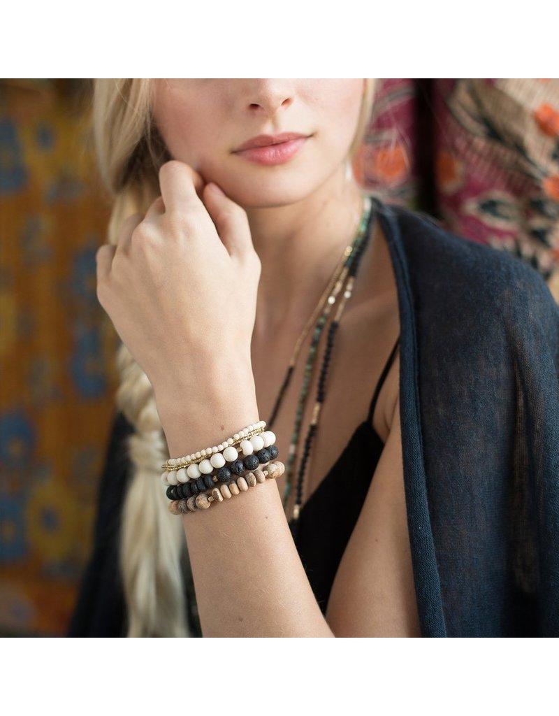Scout Turquoise Stone Bracelet