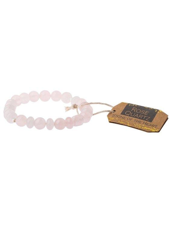 Scout Rose Quartz Stone Bracelet