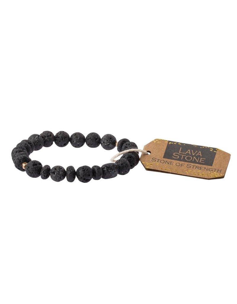 Scout Lava Stone Bracelet