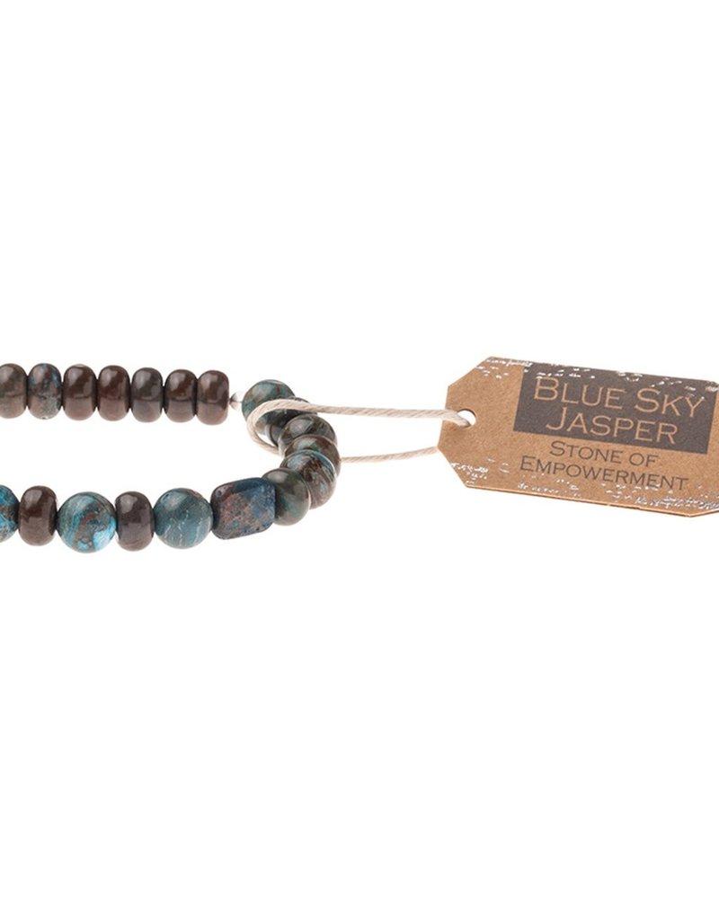 Scout Blue Sky Jasper Stone Bracelet