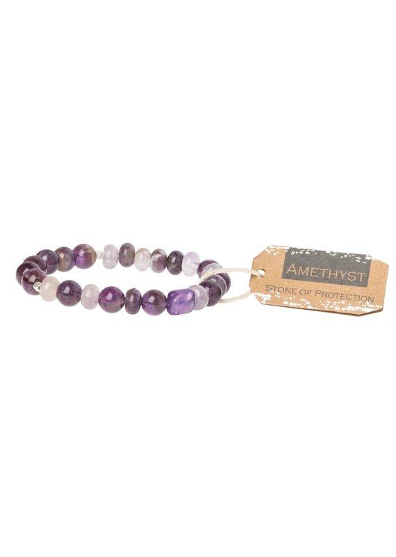 Scout Amethyst Stone Bracelet