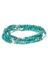 Scout Turquoise Silver Stone Wrap