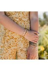 My Saint My Hero Gold Mantra Of Love Bracelet